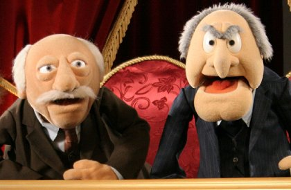 Two old men from the Muppets